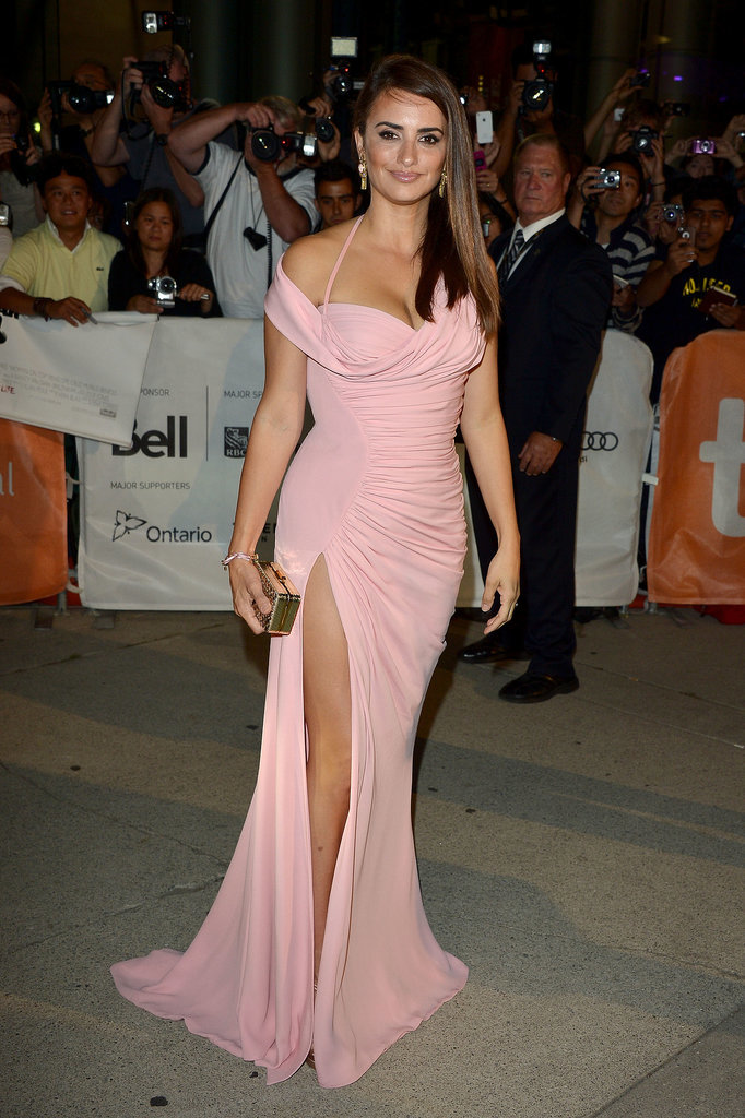 Penélope Cruz in Versace at the Toronto International Film Festival