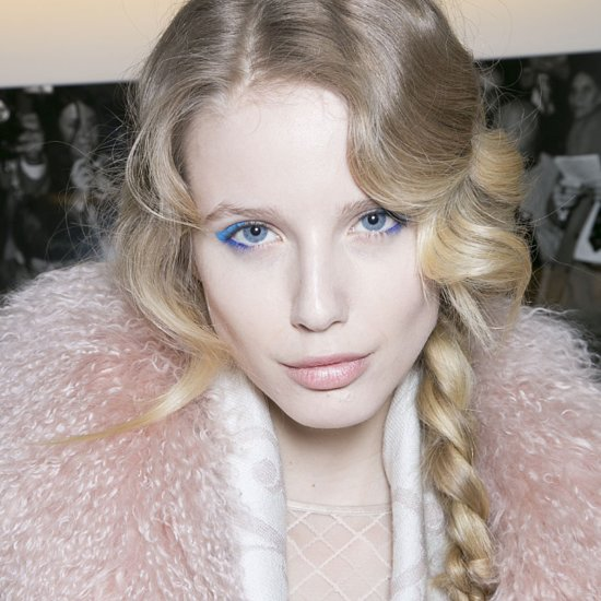 Temperley London Hair and Makeup 2014 London Fashion Week