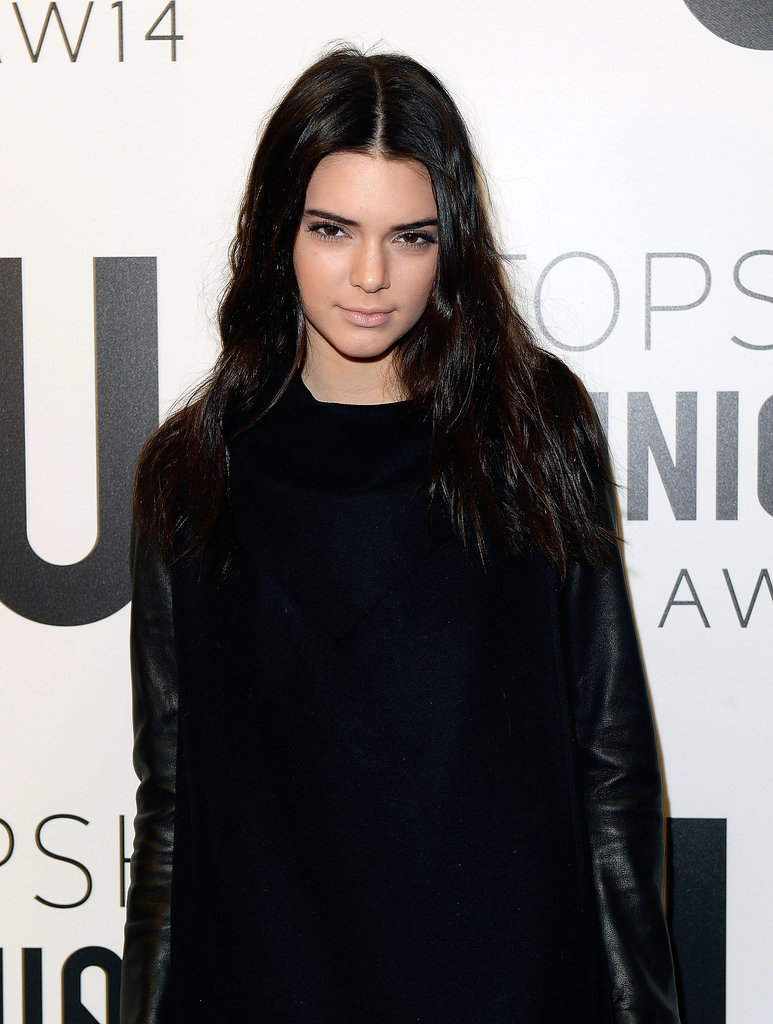 Kendall Jenner at Topshop Unique