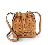 MCM Drawstring Mini Bucket Bag