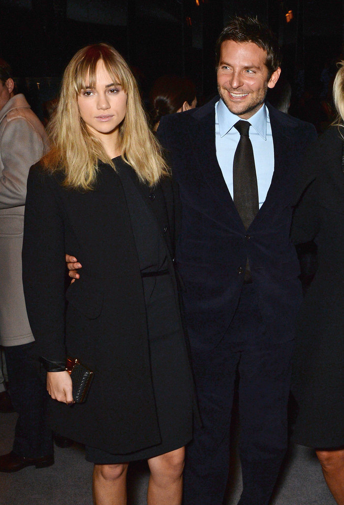 Suki Waterhouse and Bradley Cooper at Tom Ford