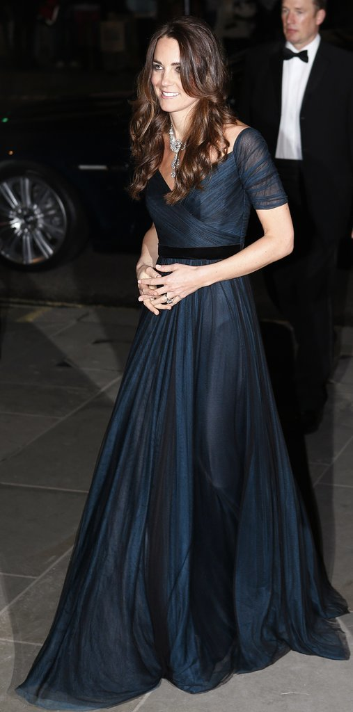 Kate Middleton in a Jenny Packham Gown
