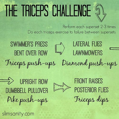 The Triceps Challenge