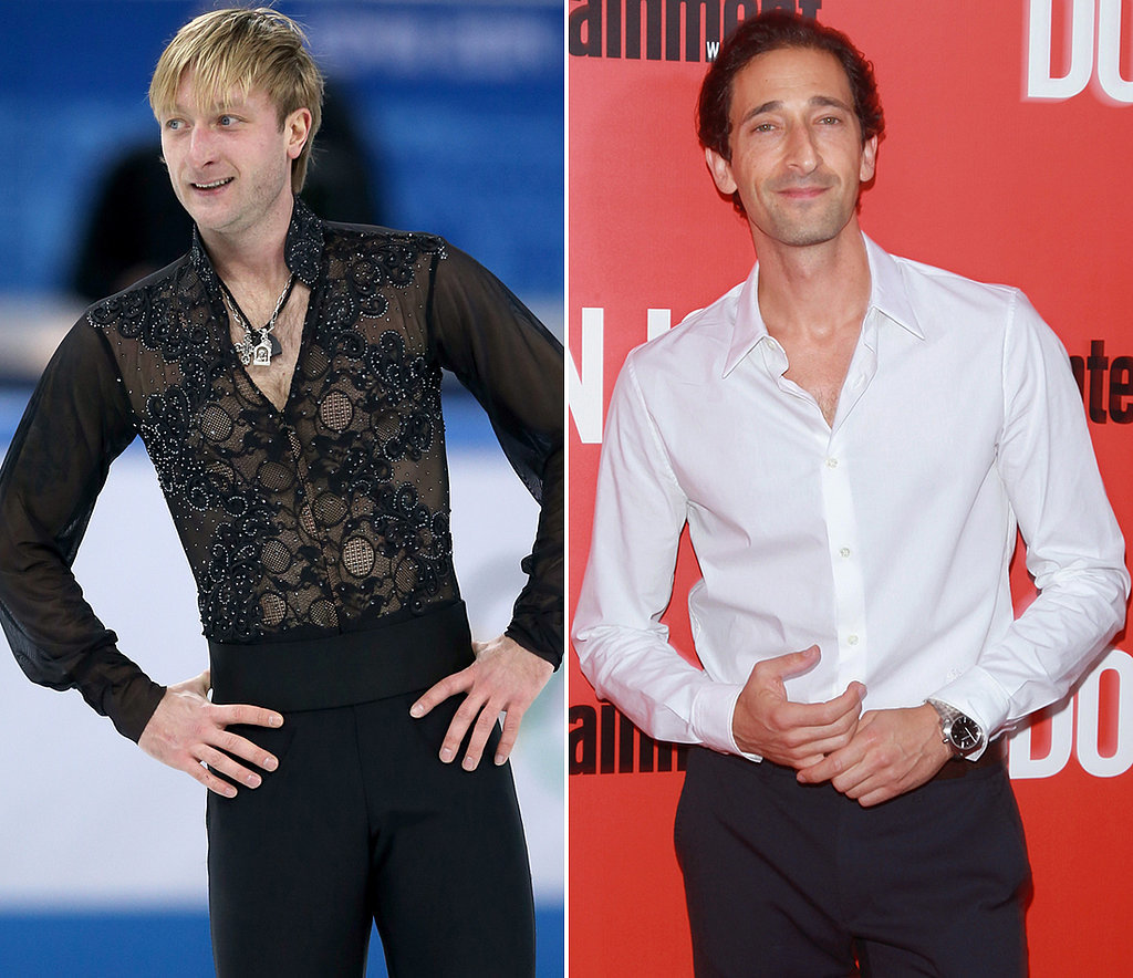 Evgeni Plushenko Played by Adrien Brody