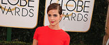 Get Emma Watson's Gorgeous Golden Globes Look on POPSUGAR Live!