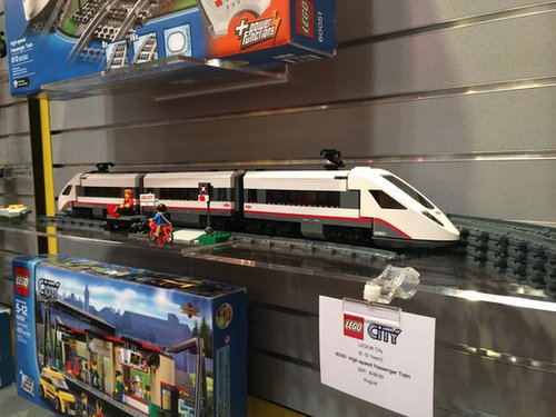 Lego City High Speed Passenger Train