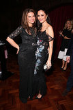 Natalie Massenet and Georgina Chapman