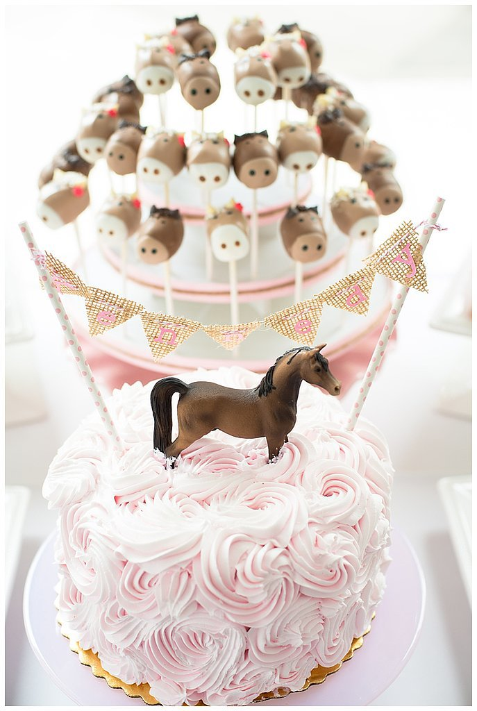 A Not So Little Pink and Brown Pony Party