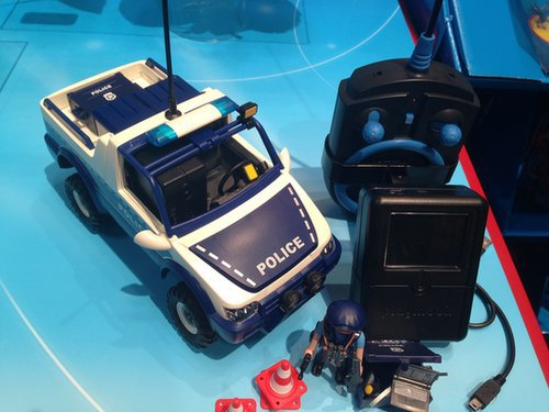 Playmobil Remote-Control Police Car