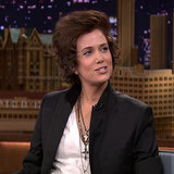 Kristen Wiig Dressed Up as Harry Styles on The Tonight Show