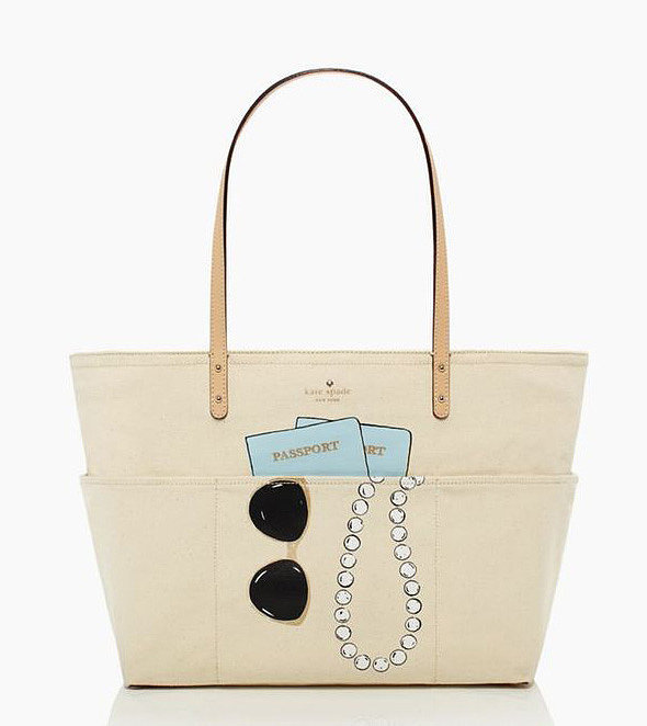Kate Spade Wedding Belle Sunglasses, Passport, Pearls Tote