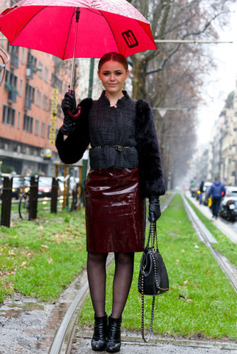 MFW Street Style Day One