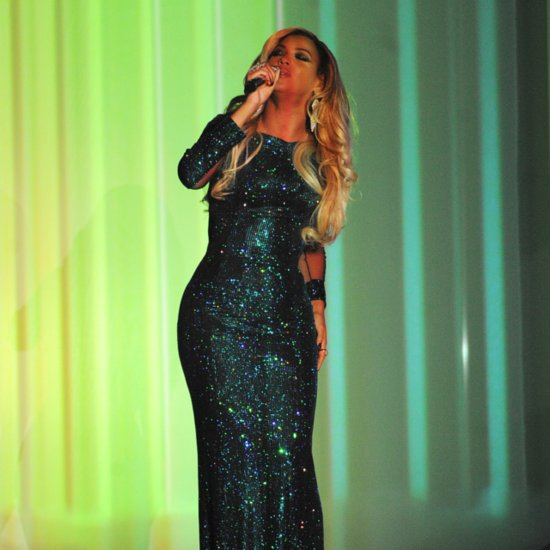 Brit Awards 2014 Beyonce at The Brit Awards 2014