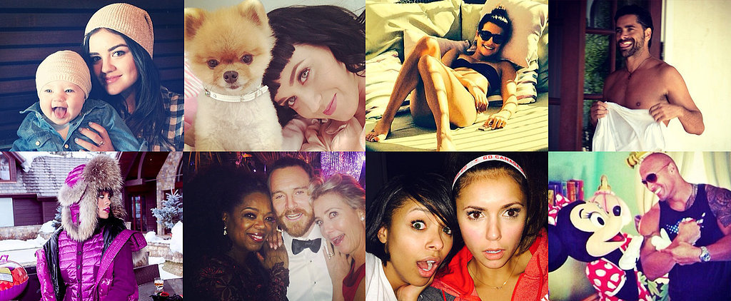 From Fun in the Sun to Selfies With Oprah: The Week's Cutest Candids