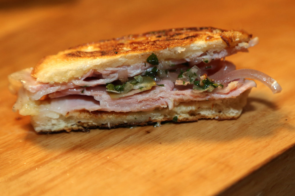Cuban Sandwich With Tuna Mayo