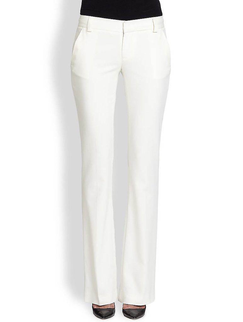Alice + Olivia White Stacey Pants ($264)