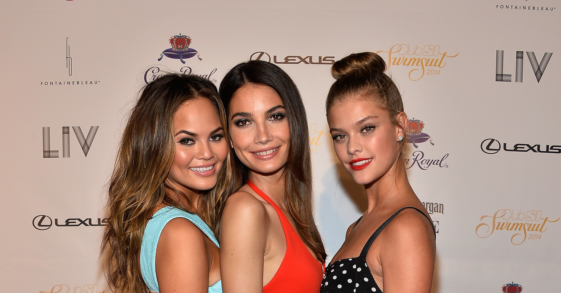 sports illustrated cover girls chrissy teigen lily
