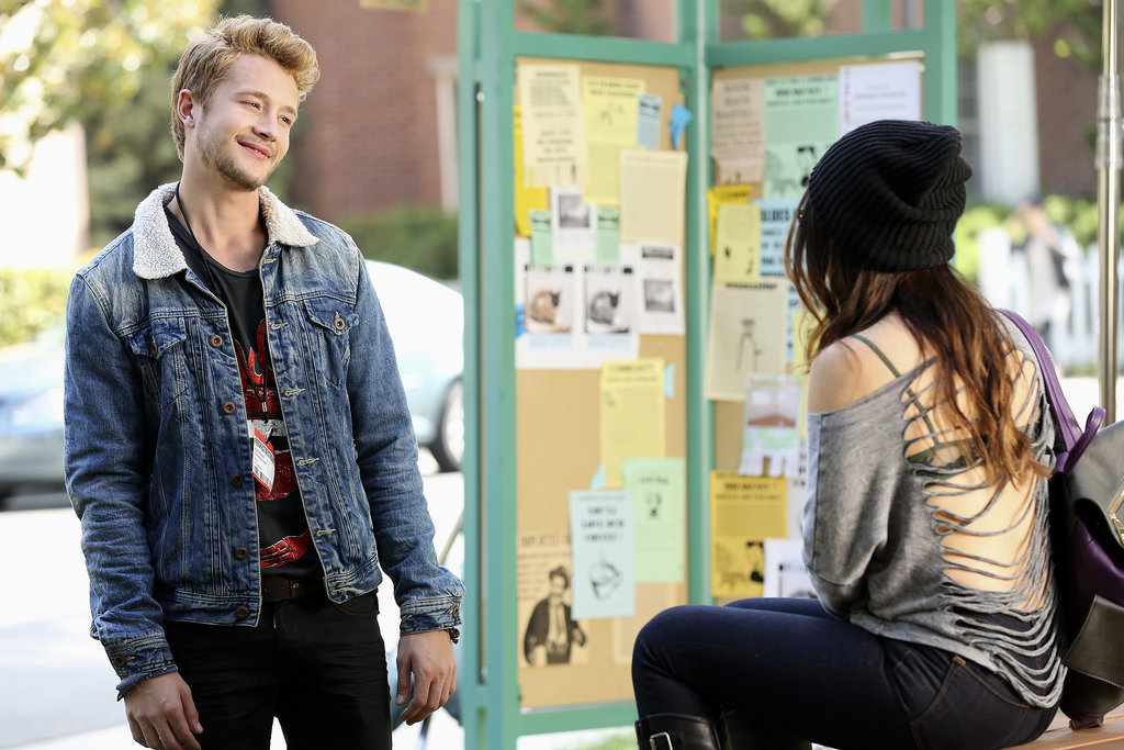 A new man (played by Nick Roux) emerges in Rosewood. Source: ABC