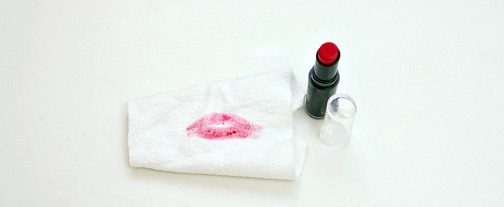 How to Get Out Stubborn Lipstick Stains