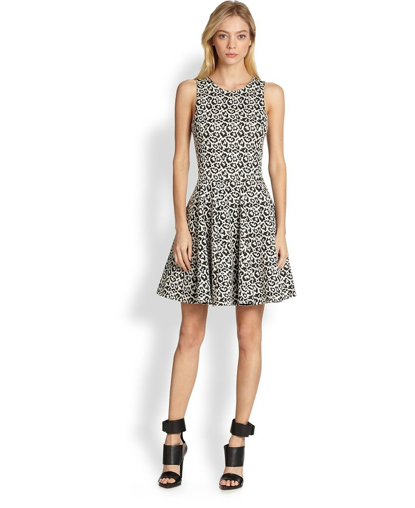 Tibi Leopard-Print Dress
