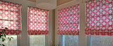 Create Gorgeous, Custom Roman Blinds (Without Sewing!)