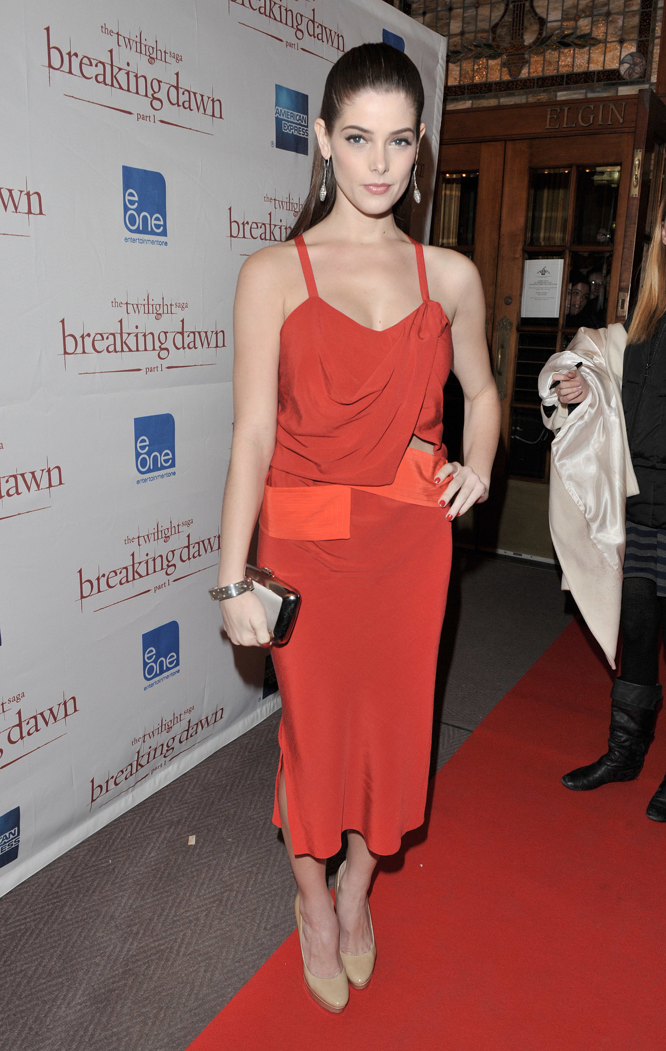 Sexy and sophisticated in Narciso Rodriguez for the Breaking Dawn Part 1 premiere in Toronto in 2011.