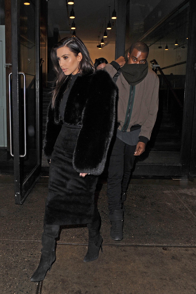 What Does Khloé Think of Kim Kardashian's Fur?