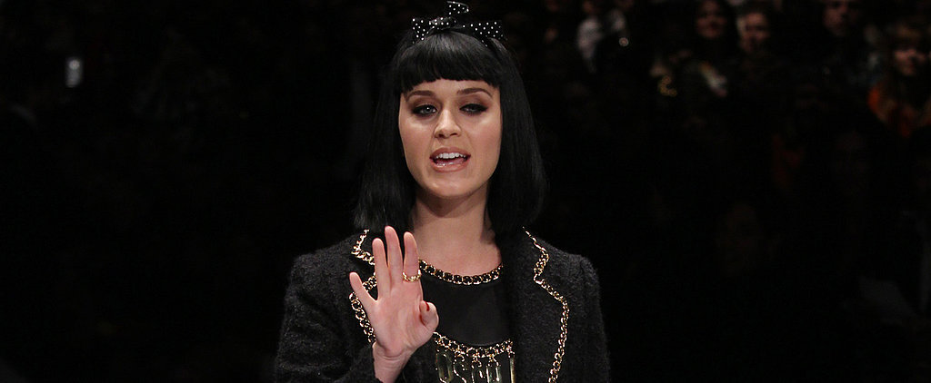 Katy Perry Gets Booed During Her Model Moment