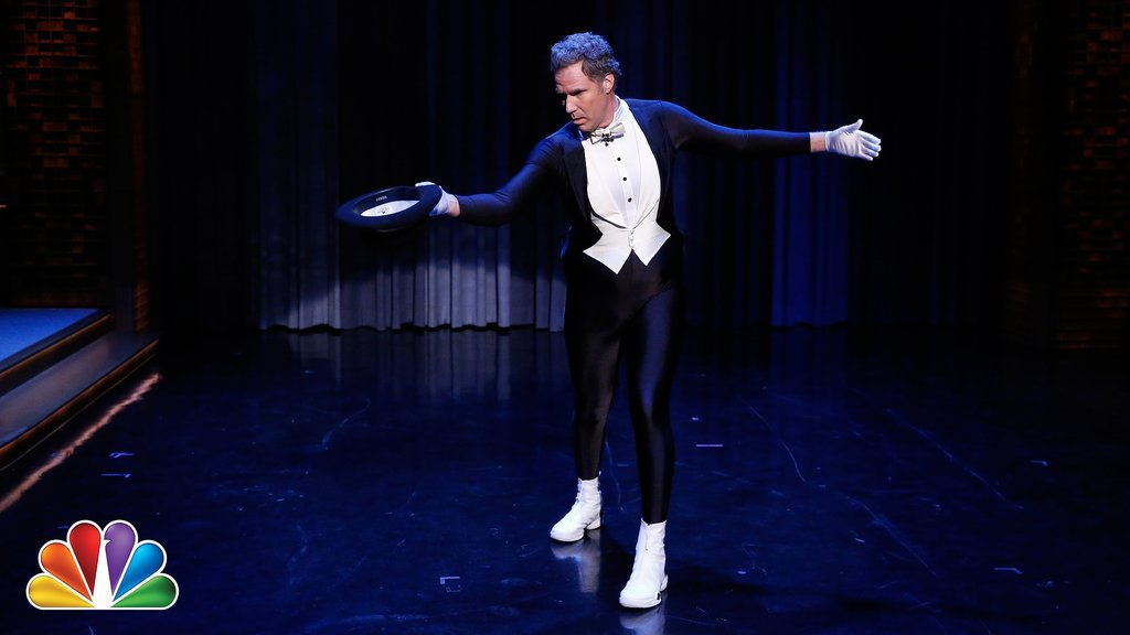 Will Ferrell Shows Off His Downton Abbey Skating Routine