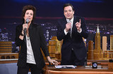 Kristen Wiig impersonated Harry Styles for her whole interview on The Tonight Show Starring Jimmy Fallon.
