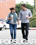 Jennifer Garner and Ben Affleck took a sweet stroll in LA, walking hand in hand.