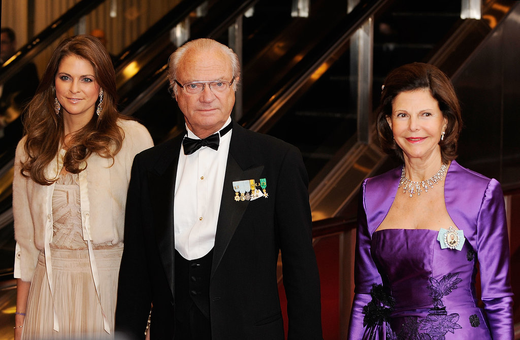 Here she was with her parents, the king and queen of Sweden, at a ball in New York in 2011.