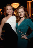 American Hustle costars Amy Adams and Elisabeth Röhm buddied up.
