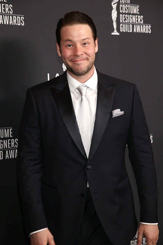 Ike Barinholtz traded his scrubs on The Mindy Project for a suit and white tie.