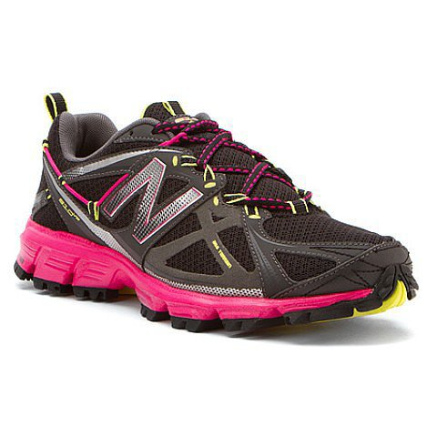 Womens New Balance Shoes WT610v3 Black Pink Glo