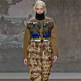 Fur and Feathers Were Flying at Marni Fall 2014