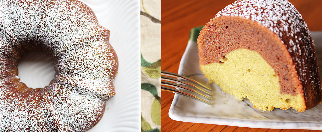 Baking With Color: Chocolate-Matcha Mochi Bundt Cake