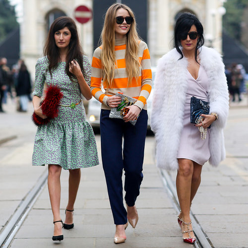 Best Street Style Photos | Milan Fashion Week Autumn 2014