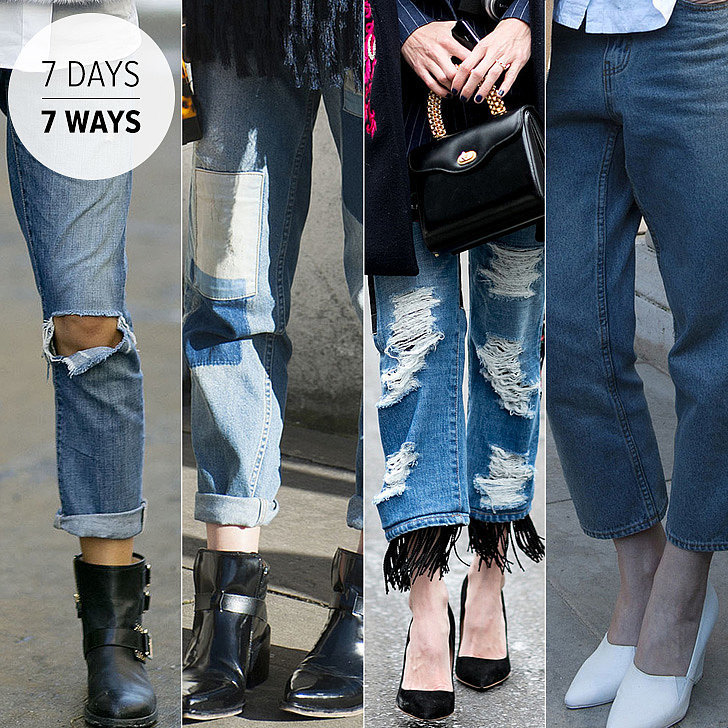 7 Ways to Wear Your Boyfriend Jeans