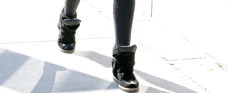 Wait — Isabel Marant Is Over Wedge Sneakers?