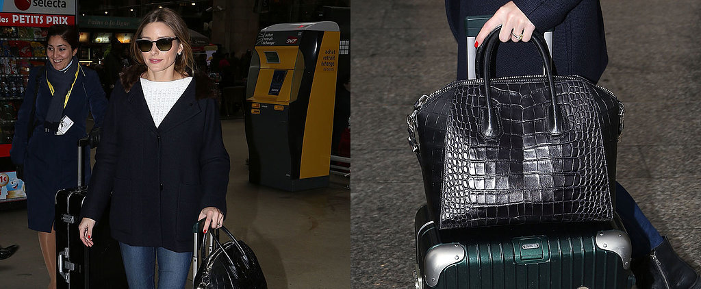 How Many Suitcases Does It Take to Get Olivia Palermo to Fashion Week?