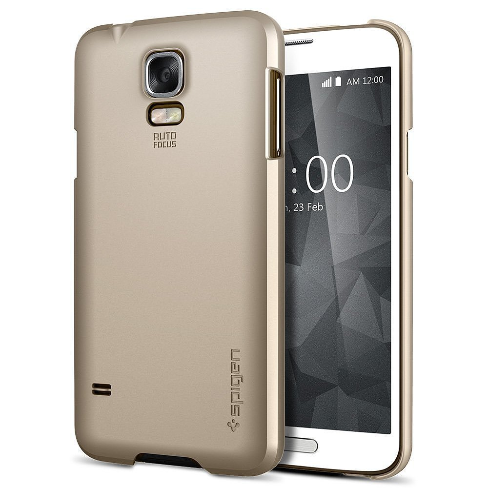 Spigen Copper Gold Matte Hard Case ($14, originally $25)