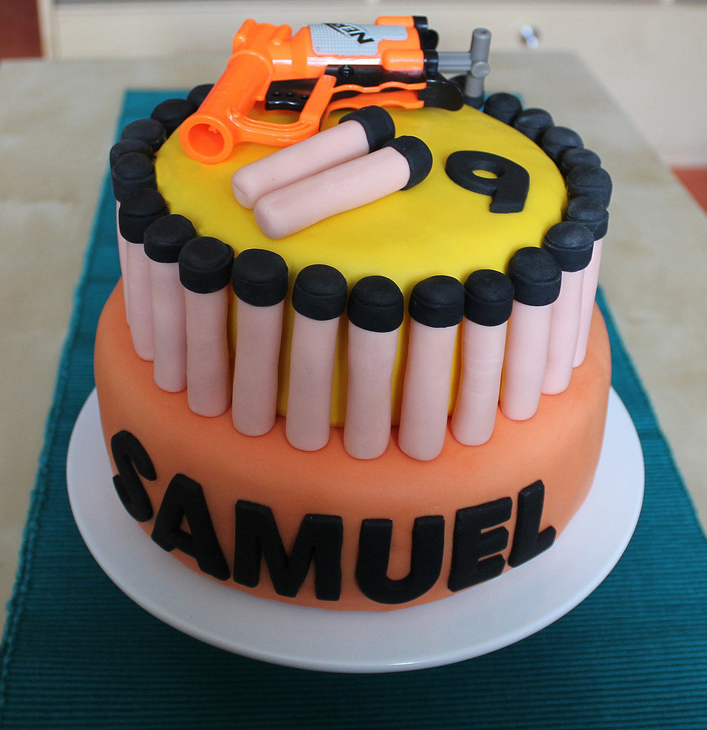 We Couldn't Celebrate Birthdays With Nerf-Gun Cakes