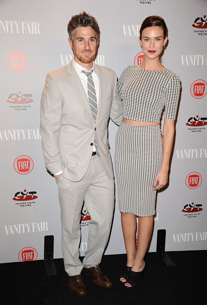 Dave and Odette Annable at the Vanity Fair Young Hollywood Party