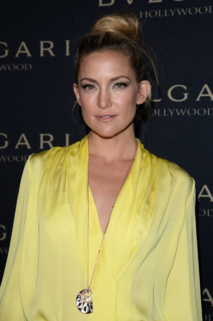 Kate Hudson Offers a New Twist to the Ballerina Bun