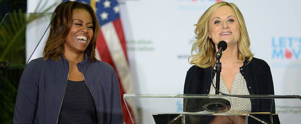 Watch Out, Tina! Michelle Obama Might Be Amy's New BFF
