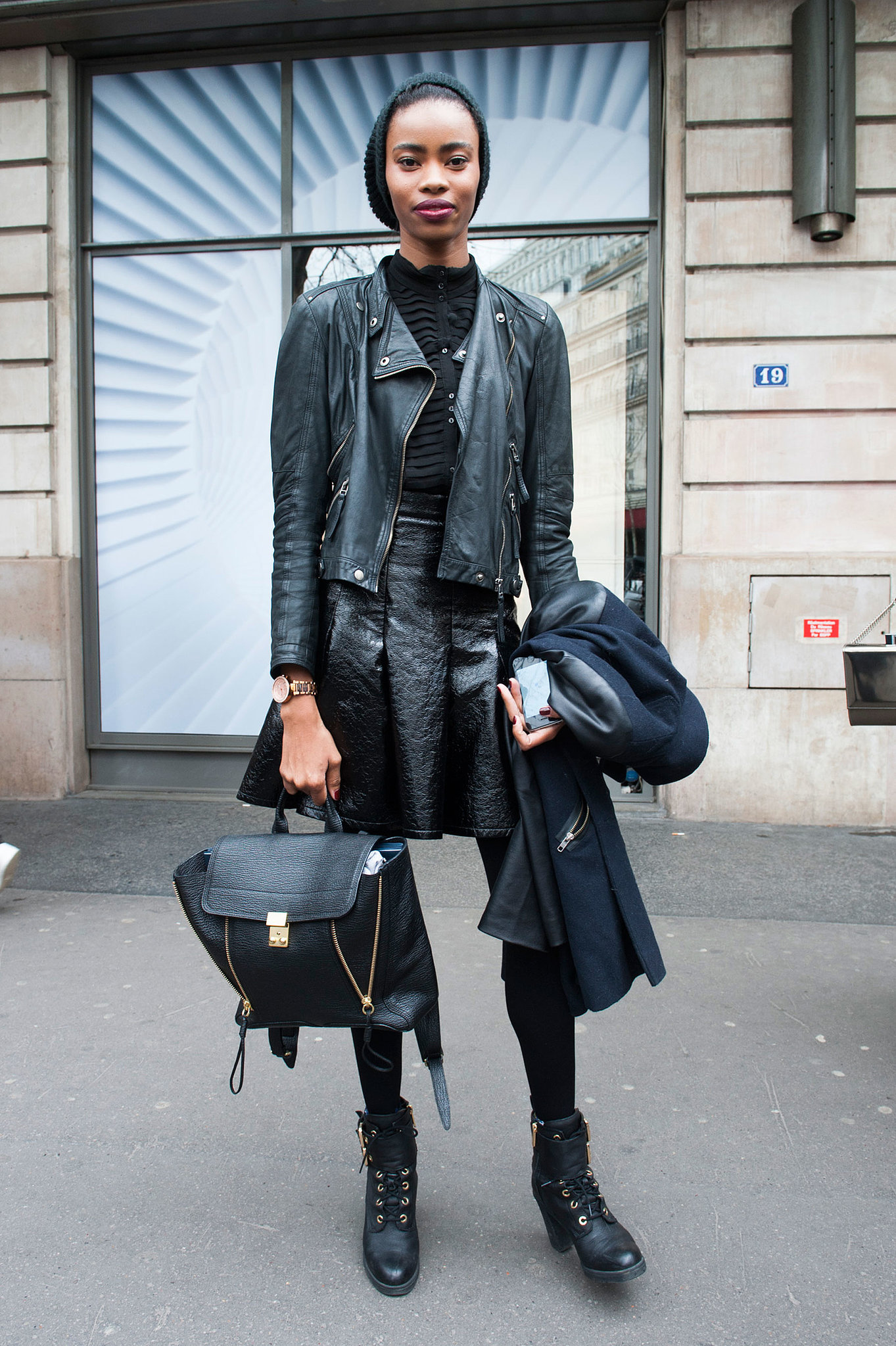 Pfw Model Street Style Day One It 39 S A Model Takeover At