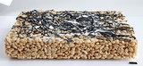 Jackson Pollock-Inspired Crispy Cake