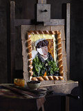 Van Gogh-Inspired Ploughman's Sandwich