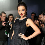 Miranda Kerr Front Row at H&M Show at Paris Fashion Week